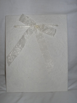 Boxed Wedding Guest Book