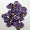 Aubergine Artificial Rose Petals