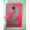 Cerise Silver Table Number