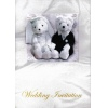 Cutie wedding invitation