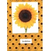 Golden Sun Flower Wedding Invitation